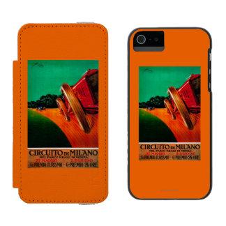 Circuito Di Milano Vintage PosterEurope Incipio Watson™ iPhone 5 Wallet Case