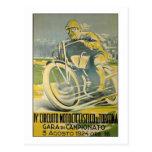 Circuito Motociclistico-1924 Postcard