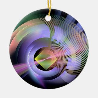 CIRCUITOUS-CIRCUS-Poster-Available Round Ceramic Decoration