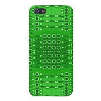 Circuitry Green iPhone 4 Case