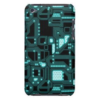 Circuitry Pattern Barely There iPod Case