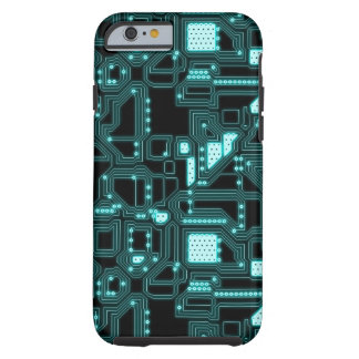 Circuitry Pattern Tough iPhone 6 Case
