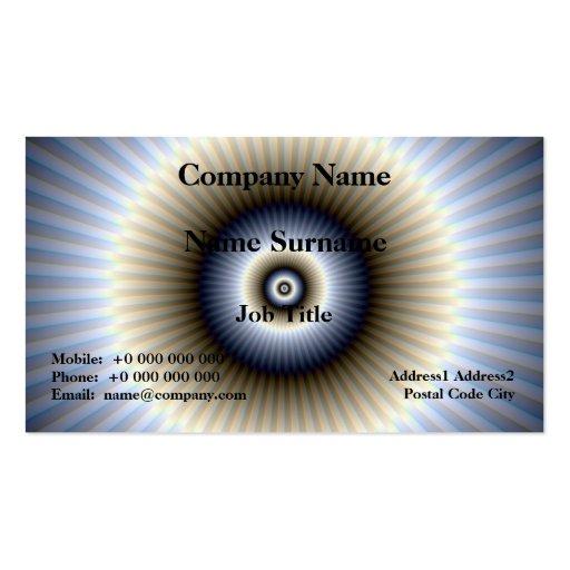 Circular Abstract Card Business Card