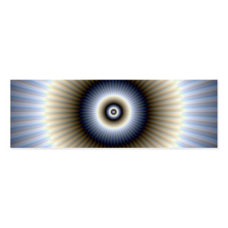 Circular Abstract Card Business Cards