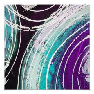 Circular Abstract Painting Art Photo