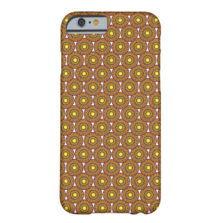 Circular Ajrak - iPhone6 Case/Skin(Yellow & Brown) Barely There iPhone 6 Case