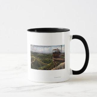 Circular Bridge Pacific Railway View Mug