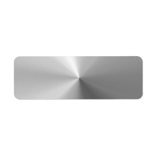 Circular Brushed Aluminium Textured