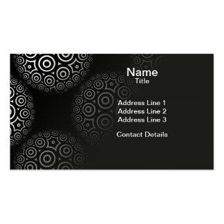 Circular Circle Limit Tiled Pattern Business Card