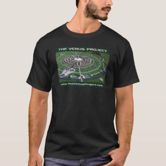 Circular City & VTOL Aircraft T-Shirt