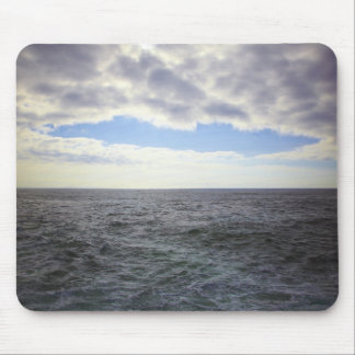 Circular Clouds over the Atlantic Ocean Mouse Mat