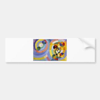 Circular Forms by Robert Delaunay Bumper Sticker