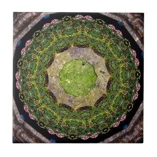 Circular Garden Small Square Tile