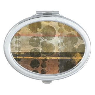 Circular Green Droplets Compact Mirrors