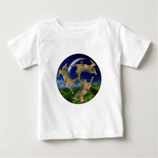 Circular Hares Baby T-Shirt