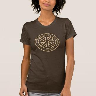 Circular Ichthys (Sepia) Tshirts