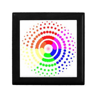 Circular LGBT Pattern Gift Box