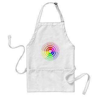 Circular LGBT Pattern Standard Apron