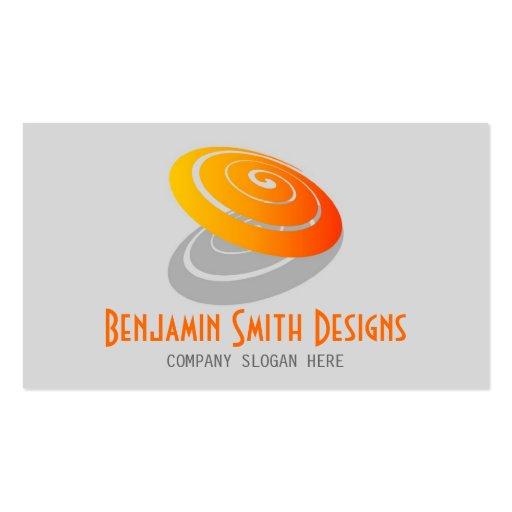 Circular Logo Business Card