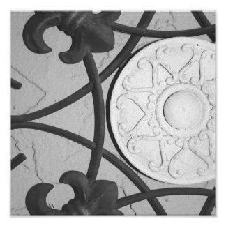 Circular Medallion print