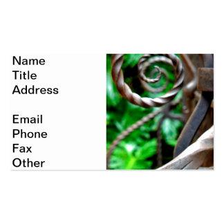 Circular Metal Pack Of Standard Business Cards