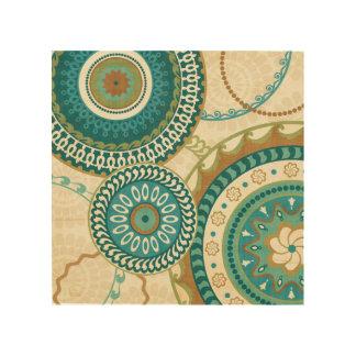 Circular Patterns Wood Canvases