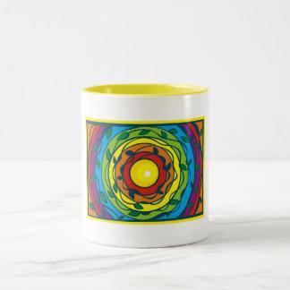 Circular Rainbow Mugs