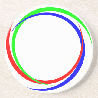 Circular RGB Logo Coaster