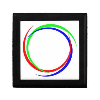 Circular RGB Logo Gift Box