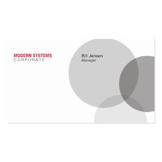 Circular Venn Pack Of Standard Business Cards