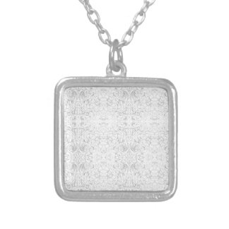 Circulating Silver Plated Necklace