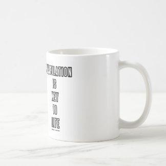 Circulation Is Key To Life (Circle Of Willis) Coffee Mug