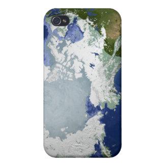 Circum-Arctic permafrost iPhone 4 Case