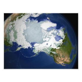 Circum-Arctic permafrost Photo Print