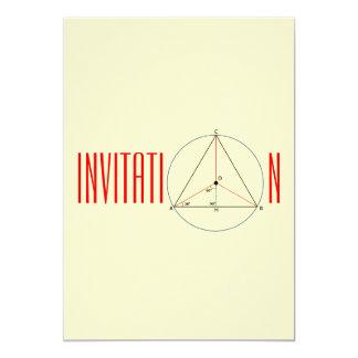 Circumference  Invitation