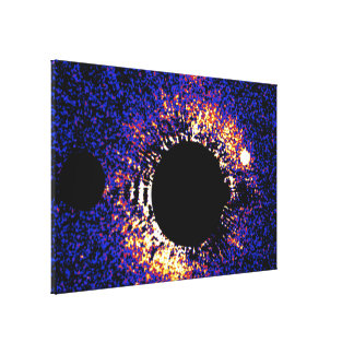 Circumstellar Debris Disk HD 53143 Gallery Wrapped Canvas