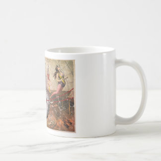 Circus-1890 - distressed coffee mug