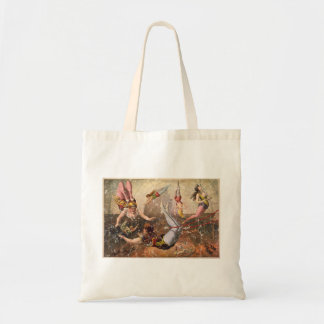 Circus-1890 - distressed tote bag