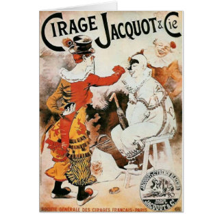 Circus Advertisement Card