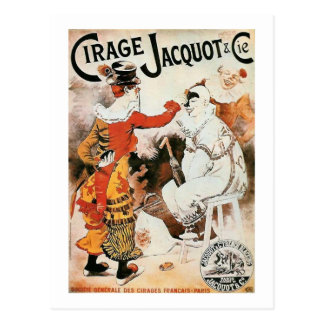 Circus Advertisement Postcard