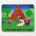 Circus and Characters Mouse Pad