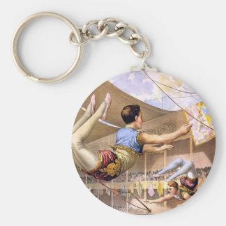 circus art key ring