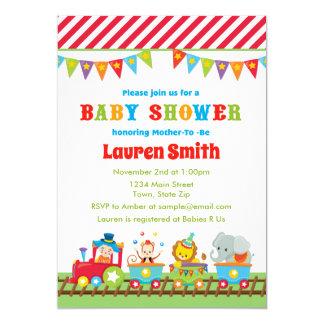 Circus Baby Shower Invitations Announcements Zazzlecouk