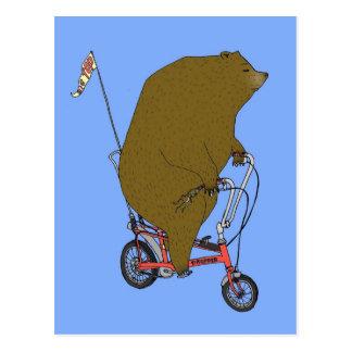 Circus Bear Postcard
