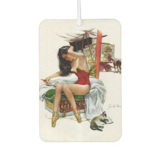 Circus Beauty Vintage Pin-Up Air Freshener