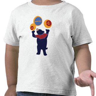 Circus Birthday Bear Tee Shirts