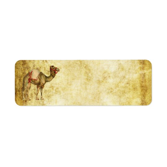 CIRCUS CAMEL VINTAGE ADDRESS LABELS