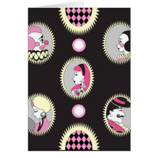 Circus Cameo Note Card