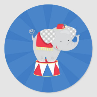 Circus / Carnival Party Sticker