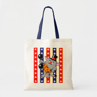 Circus Cat Tote Bag